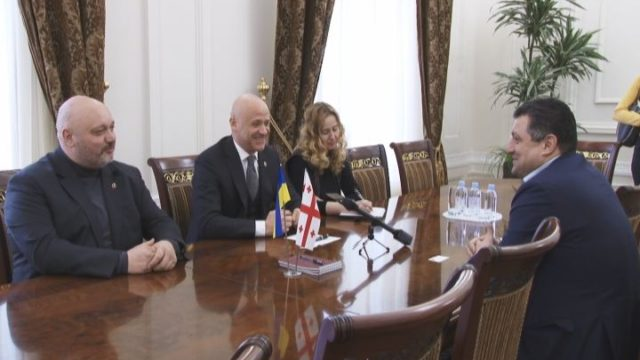 Мэр встретился с консулом Грузии