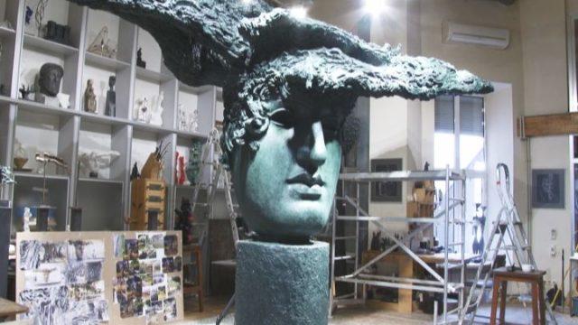 Греческий парк украсит фонтан Михаила Ревы