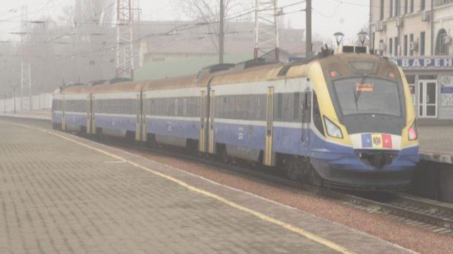Запустили новый модернизированный поезд Одесса-Кишенев