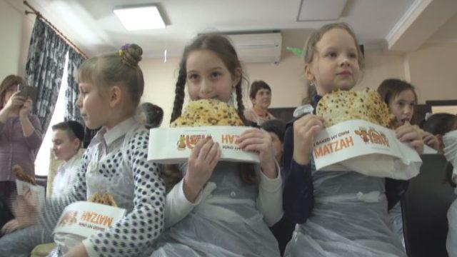Дети Хабада готовятся к Песаху