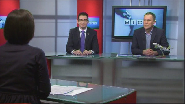 ВЕСТИ ОДЕССА / Гости Андрейс Карповичс и Каспарс Апсе