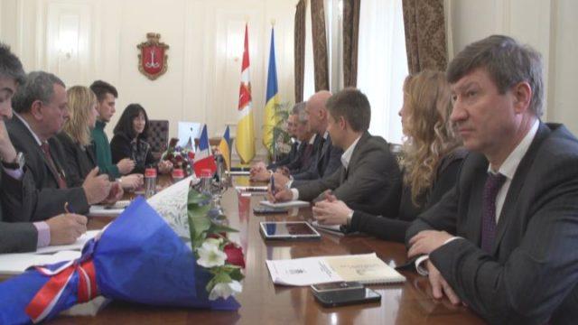 Визит дружбы: Одессу посетила французская делегация