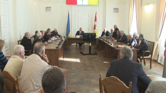 Мэр Одессы встретился с ветеранами со всей Украины