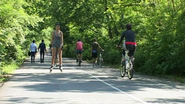 Внимание! Движение по Трассе здоровья