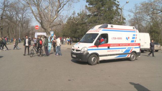 Велосотка-2018: Клиника Святой Екатерины на посту