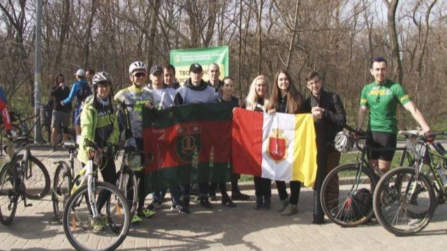 Велосотка-2018. Волонтерская работа ОНАПТ