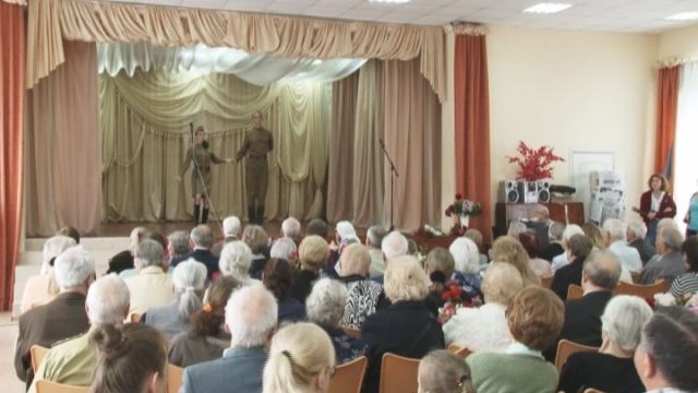 В 81-ой школе провели торжественный концерт