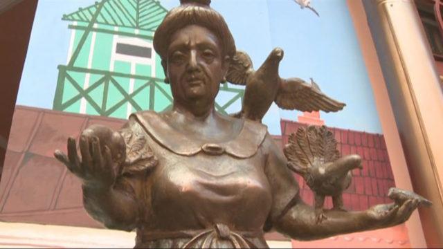Одесская бабушка: открытие памятника во дворе Утесова