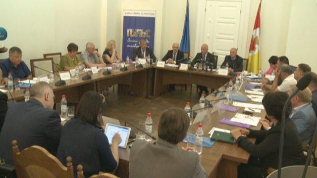 В мэрии обсудили проблемы украинских городов