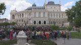 Хобарт Эрл на Театральной площади: Иоганн Штраус и украинский гопак