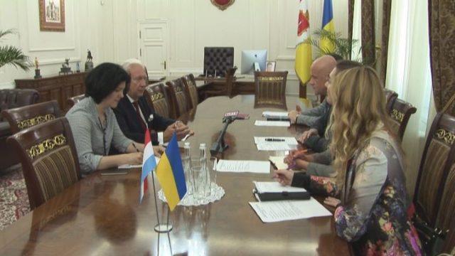 Мэр встретился с голландским послом