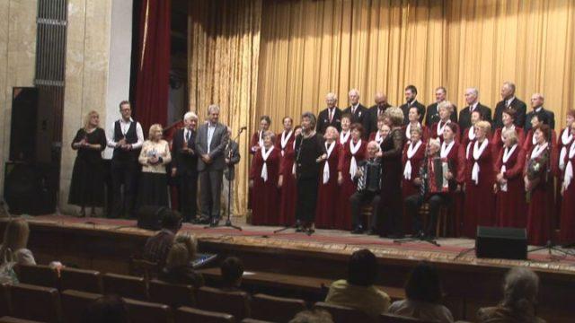 Майский фестиваль ветеранских хоров