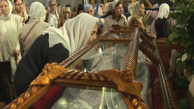 Святой служил в Успенском соборе