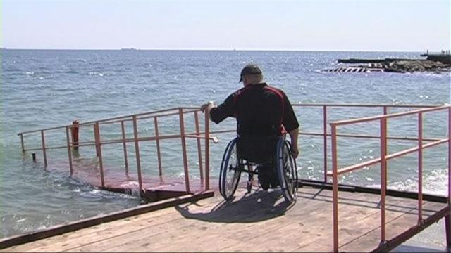 Подготовка пляжей для людей с инвалидностью