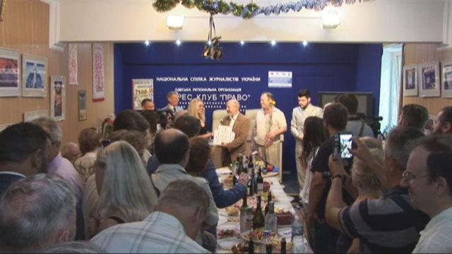 Празднование Дня Журналиста в Одессе