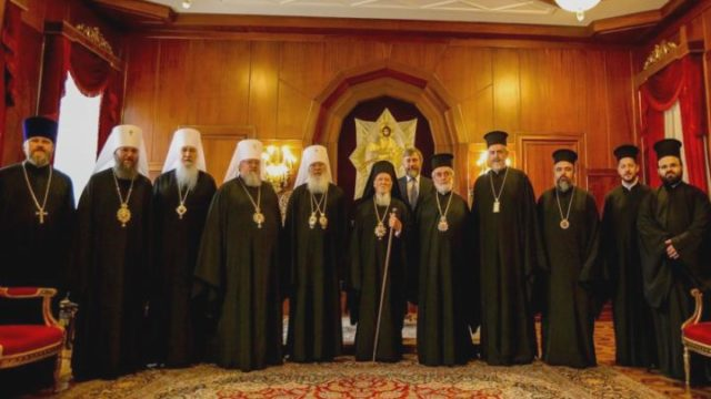Делегация УПЦ встретилась со Вселенским патриархом