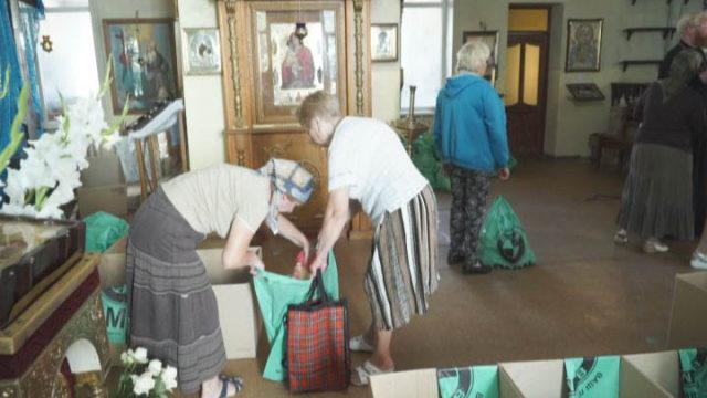 Одесская епархия. Гуманитарная помощь