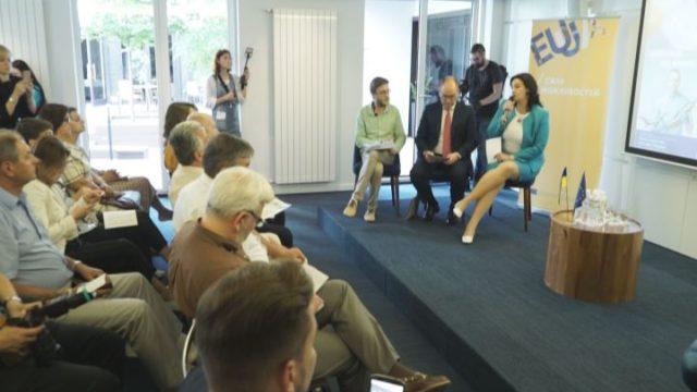 Иванна Климпуш-Цинцадзе приняла участие в региональной конференции