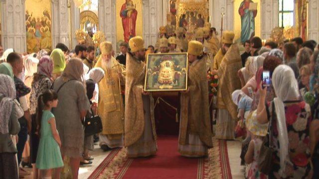 В Одессу прибыла икона «Прибавление ума»