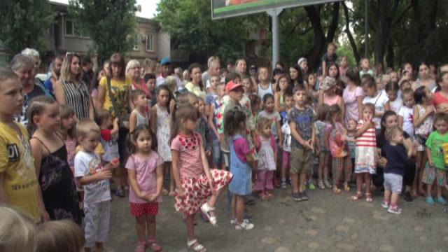 Общественная организация Одессы провела праздник для детей