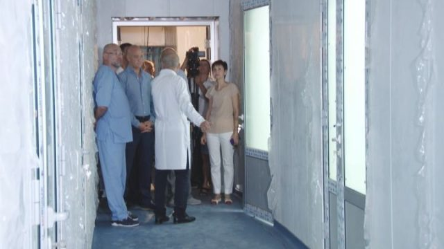 Глава Горздрава посетила городскую клиническую больницу №11