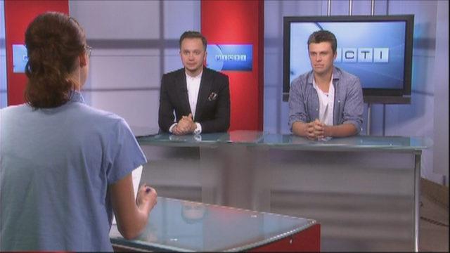 ВЕСТИ ОДЕССА / Гости Евгений Хмара и Артем Гагарин