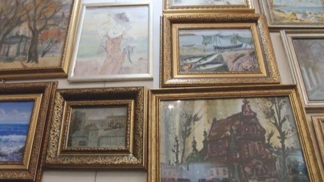 Во Всемирном клубе одесситов открылась выставка одесских пейзажей