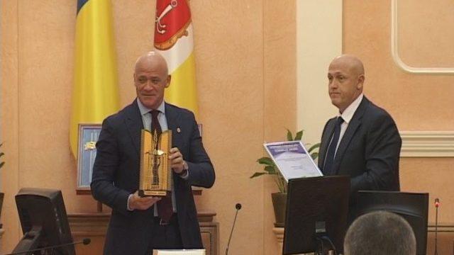 Потемкинская лестница — лауреат конкурса «Модернизация года»