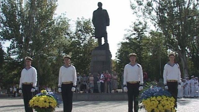 День Независимости. Празднования к 27- й годовщине в городе