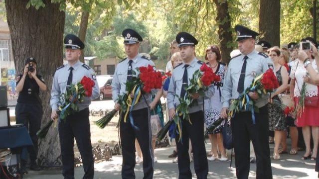 Вечная память. В Одессе почтили погибших правохранителей