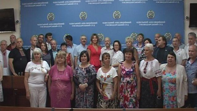 Заключительный этап конкурса «Українська мова- мова єднання» в Хозсуде