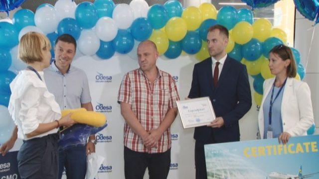 Международный аэропорт «Одесса» встретил миллионного пассажира