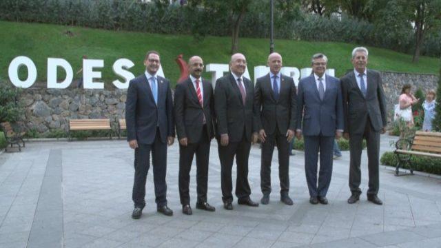 Консульские консультации мера города с турецкой делегацией