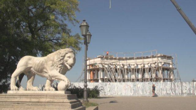 Воронцовскую колоннаду откроют к следующему Дню города