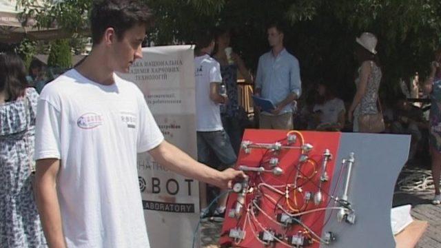 Новые технологии ОНАПТ. Фестиваль робототехники