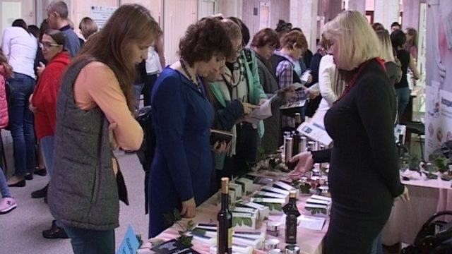 В ОНАПТ прошла выставка косметики