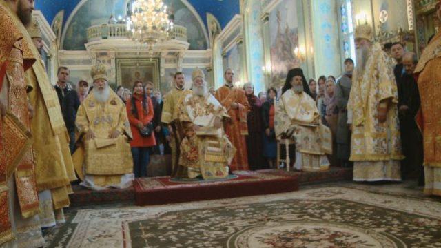 Патриарх Феодор ІІ: «Ваша Церковь — каноническая»