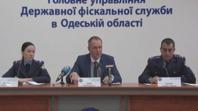 Результаты работы налоговой милиции в Одесской области