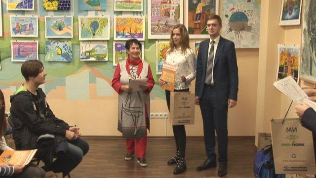 Дети Одесской области показали, как видят энергоэффективную страну