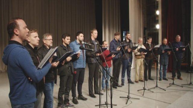 26 октября поет хор Иверского монастыря