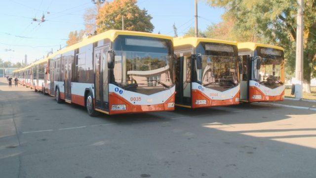 47 троллейбусов — ищите на улицах Одессы