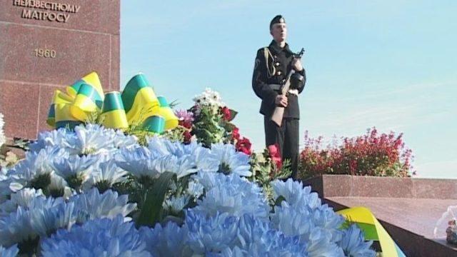 В Одессе отметили 74- ю годовщину освобождение Украины от фашистских захватчиков