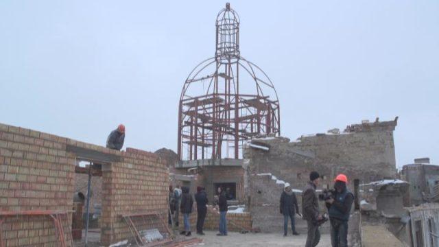 Реставраційні роботи будинку Руссова