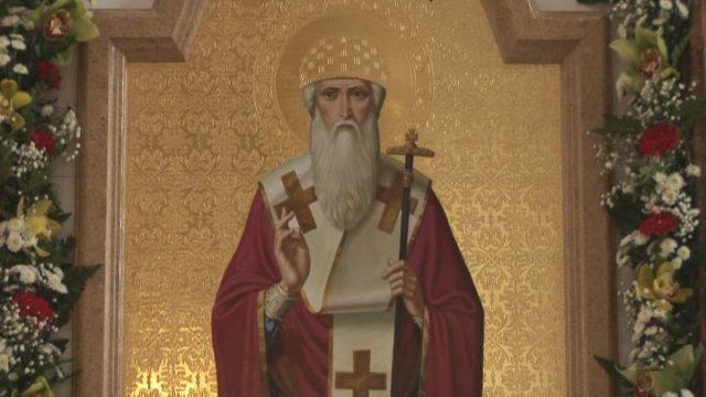 У храмі святителя і чудотворця Спиридона в Одесі