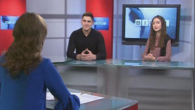 Гості Вісті Одеса / Ангеліна Докус і Владислав Михайленко