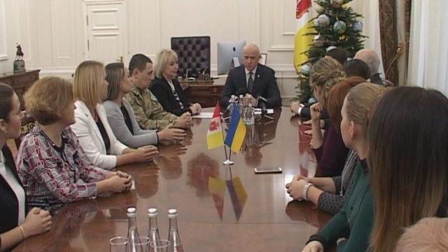 Одеських вчителів нагородили в мерії