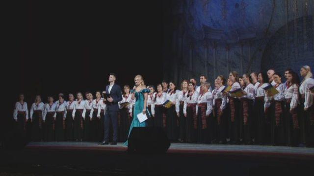 Тільки одна незалежна Україна: в Оперному театрі провели урочистості з нагоди Дня Соборності