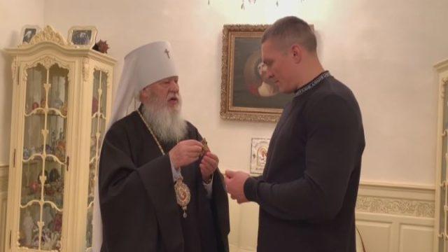 Олександр Усик став гостем Одеської єпархії
