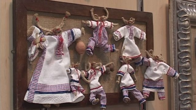 В Одесі до квітня триває виставка ляльок-мотанок