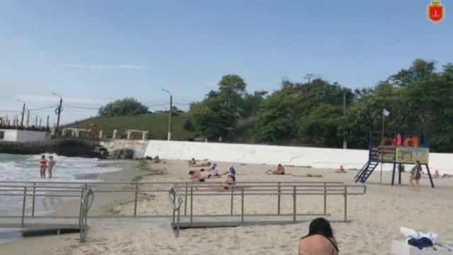 Неготовий. Пляж для людей з інвалідністю